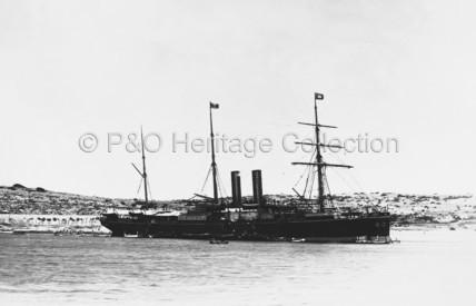 SUTLEJ at anchor