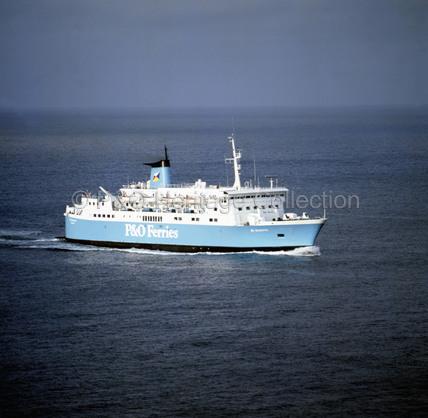 ST. SUNNIVA at sea