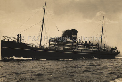 VARSOVA on sea trials