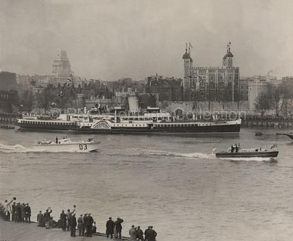 ROYAL EAGLE on the Thames
