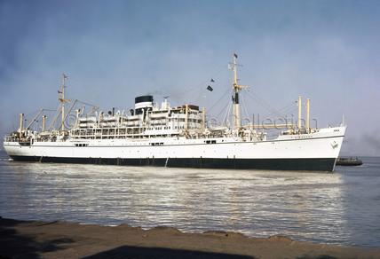 SIRDHANA in a Gulf port
