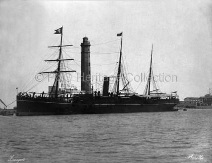 ROSETTA at Port Said
