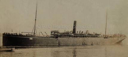 SICILIA as a troopship