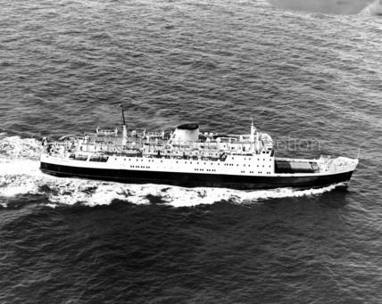 ULSTER PRINCE at sea