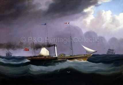 JUPITER at sea