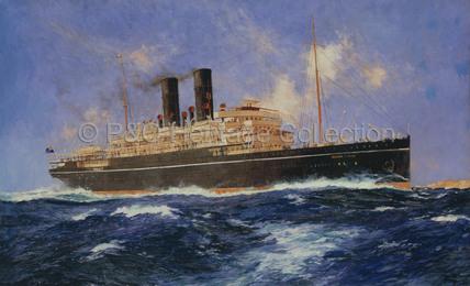KAISAR-I-HIND at sea