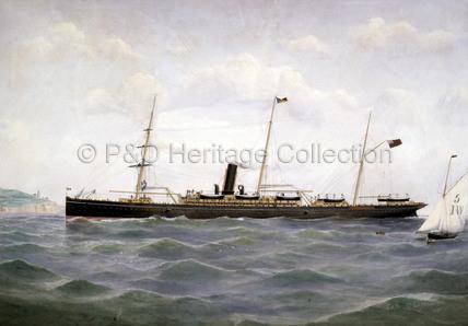 PENINSULAR off the Isle of Wight