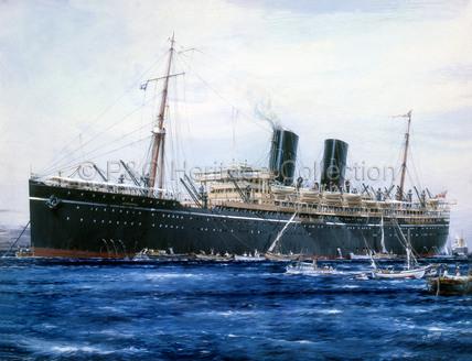 RANPURA at anchor
