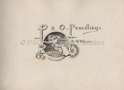 P&O Pencillings' - Frontispiece
