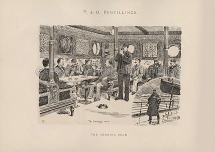 The Smoking Room'
