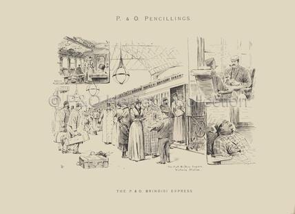 The P&O Brindisi Express'