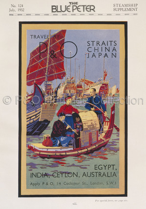 P&O Ceylon Advert, 1932