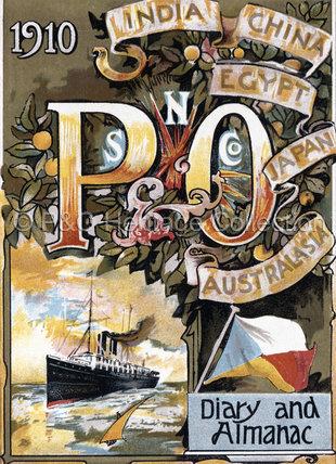 P&O Pocket Diary & Almanac