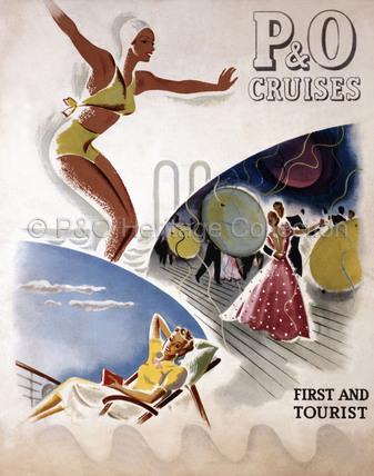 P&O Brochure - First & Tourist Class