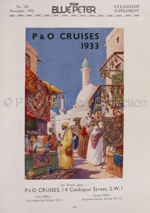 P&O Cruises 1933 Advert