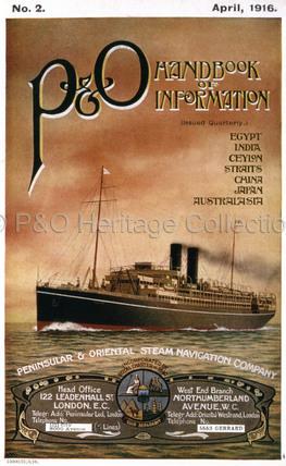 P&O Handbook of Information for 1916