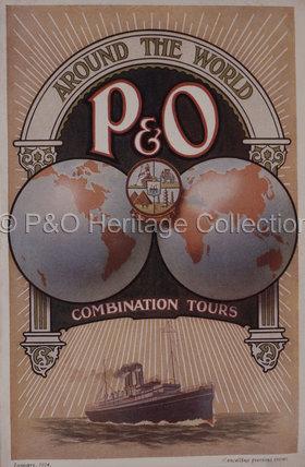 P&O Combination Tours Brochure