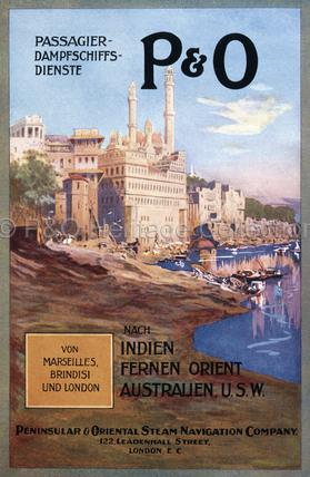P&O Print Advert in German