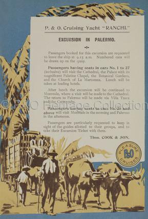 Shore Excursion details for Palermo