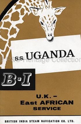 B.I.'s U.K. - East African Service