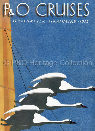P&O Cruises Brochure for 1935