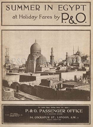 P&O 'Summer in Egypt' Brochure