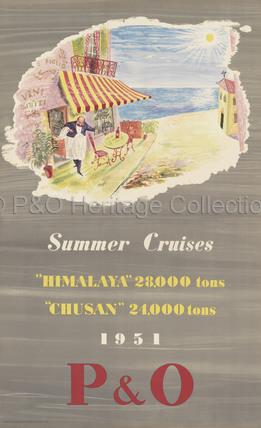 P&O Summer Cruises 1951