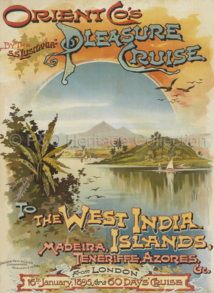 Orient Co's Pleasure Cruise to West India