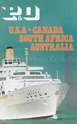 P&O - USA-Canada, South Africa, Australia