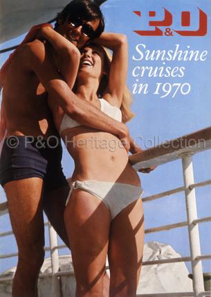 P&O - Sunshine Cruises in 1970