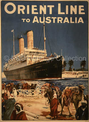 Orient Line to Australia - OTRANTO