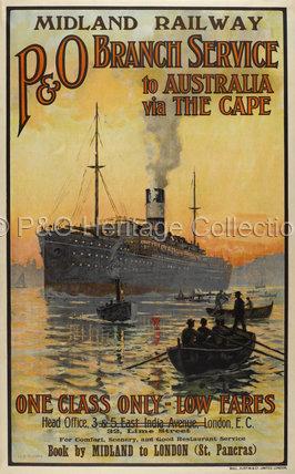P&O Branch Service to Australia via the Cape