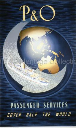 P&O Passenger services cover half the world