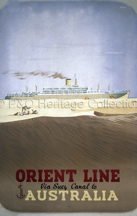 Orient Line via Suez to Australia