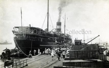 TARA in port