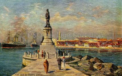 Port Said - De Lesseps Statue