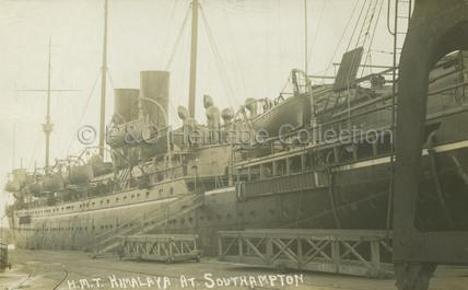 HIMALAYA at Southampton Docks
