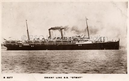OTWAY at sea