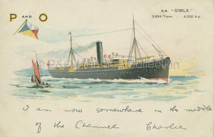 SIMLA at sea