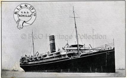 B.I.S.N.Co.'s ROHILLA