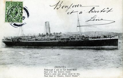 ORONTES at sea