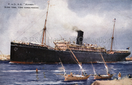 KHYBER in Suez Canal