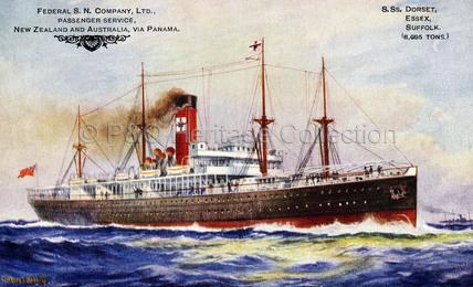 F.S.N.Co. ship at sea