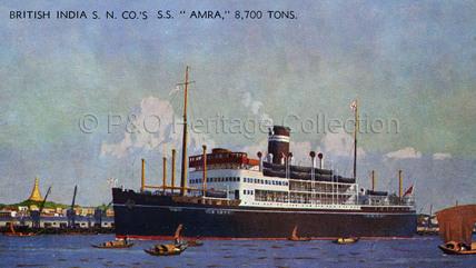 AMRA in dock