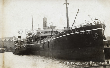 NYANZA in dock