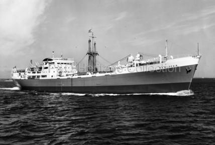 REGISTAN at sea