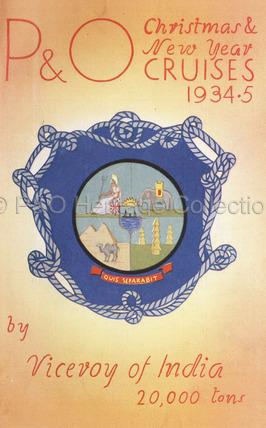P&O Christmas & New Year Cruises, 1934-5