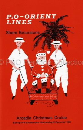 ARCADIA Christmas cruise shore excursions