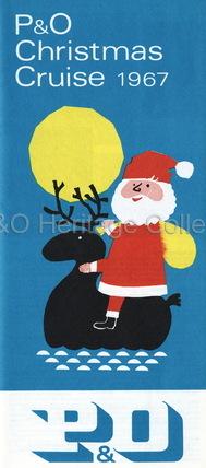 P&O Christmas cruise, 1967