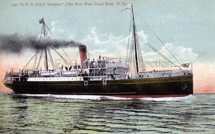ARAHURA 'The new West Coast boat'